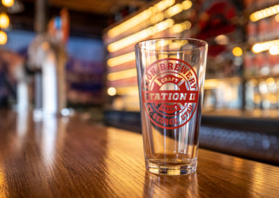 Zion Brewery Station 2 Bar Glass